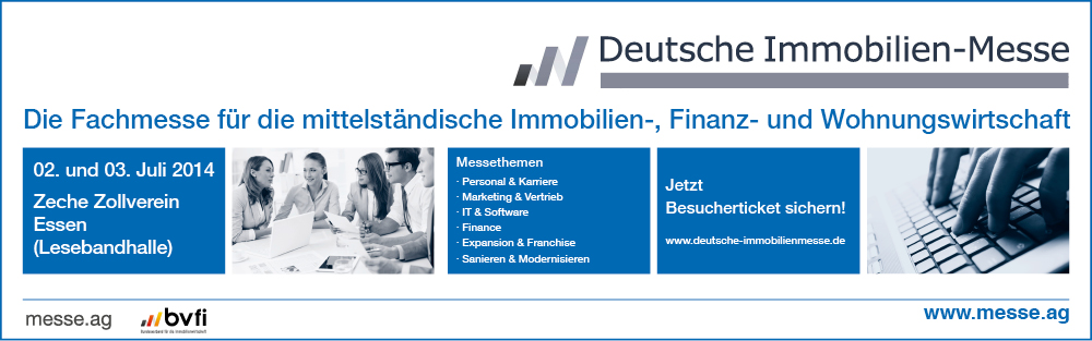 Besuchen Sie Porta Mondial auf der Deutschen Immobilien-Messe in Essen.