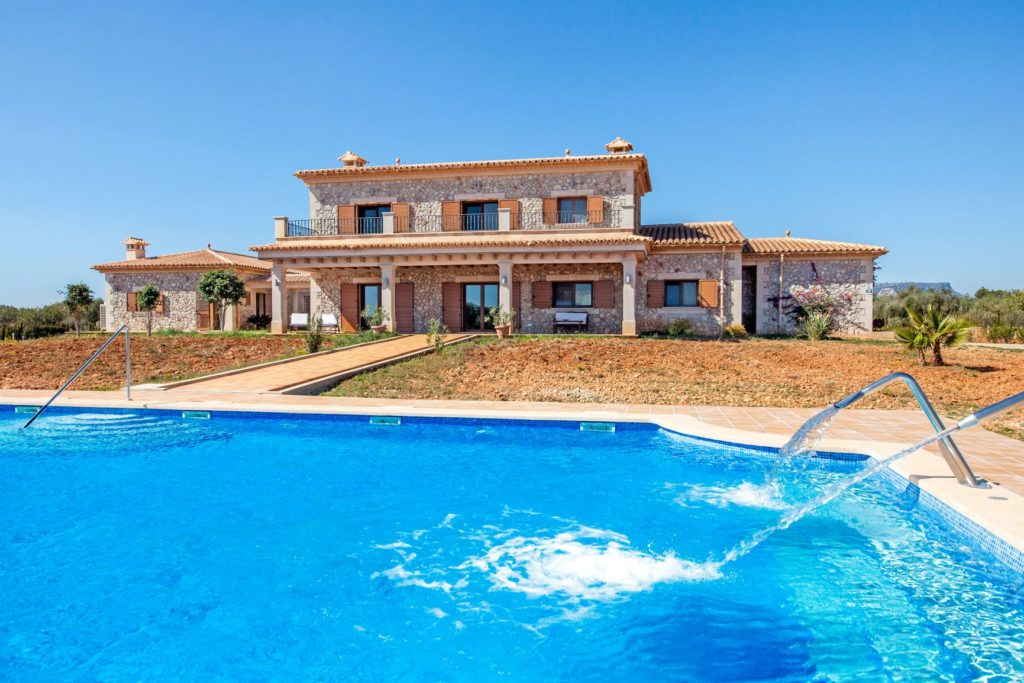 Holiday finca in the Balearics