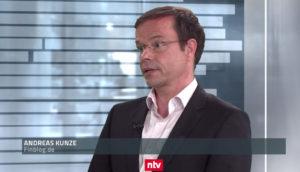 """Andreas Kunze """"Bruttorenditen von 8% sind möglich. Sie müssen allerdings die Kosten abziehen."""""""